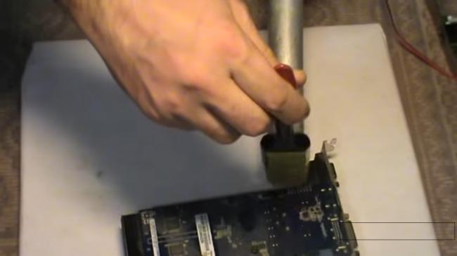 нет сигнала на мониторе при включении компьютера