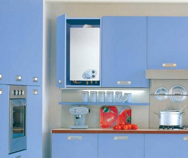 дизайн маленькой кухни с газовой колонкой фото, фото 39