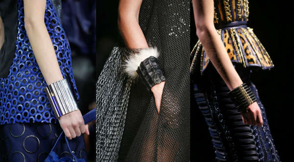 Модные массивные браслеты осень-зима 2014-2015