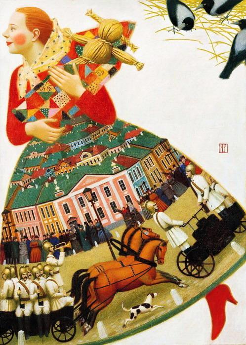 Андрей Ремнёв Рыжая. 2004 (498x699, 151Kb)