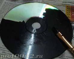 Ненужные СД-диски - в дело. Идеи декора