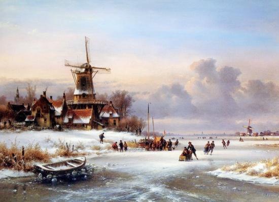 художник Лодевейк Йоханнес Клейн (Lodewijk Johannes Kleijn) картины – 08
