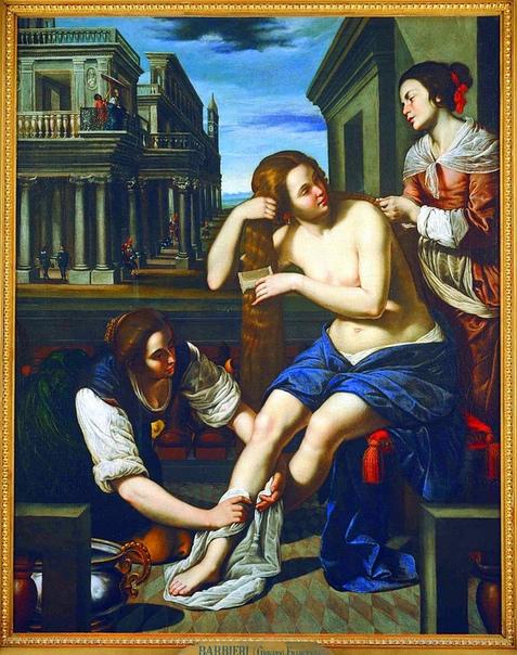 «Купание Вирсавии» (1636-1638)