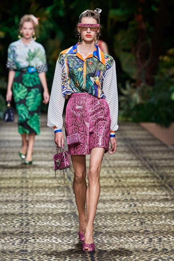 Коллекция Dolce & Gabbana весна-лето 2020