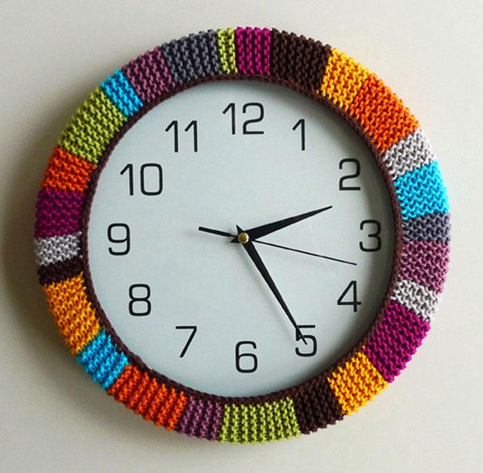 Полосатые часы.