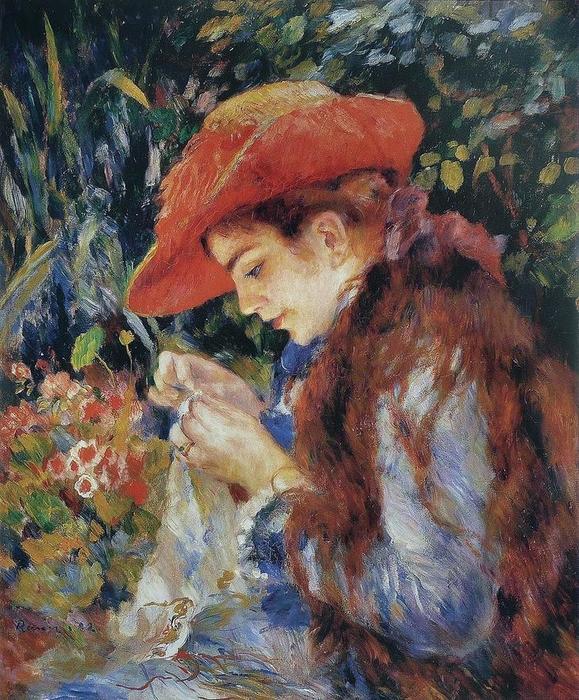 26 Maдмуазель Maри-Тереза Дюра -Рюэль Севанг1882 (579x700, 111Kb)