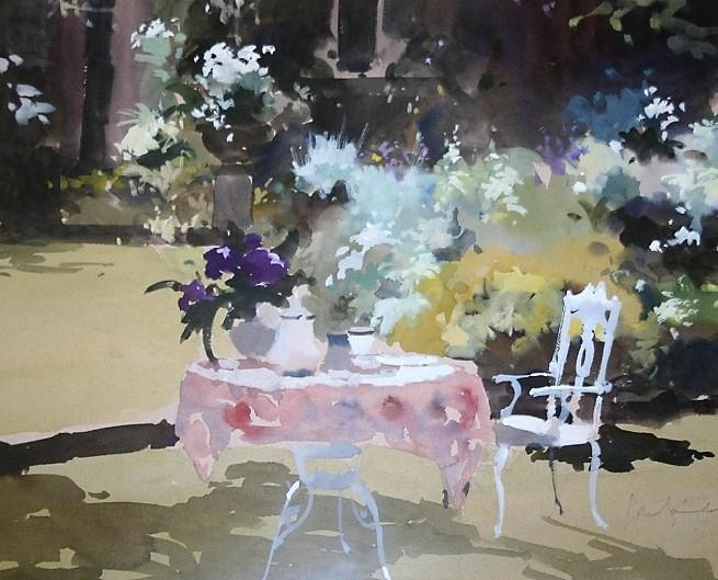 + August shadows (the artist's garden) (655x529, 288Kb)