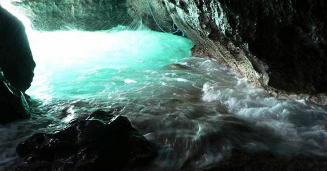 Пещеры Хрустальной бухты