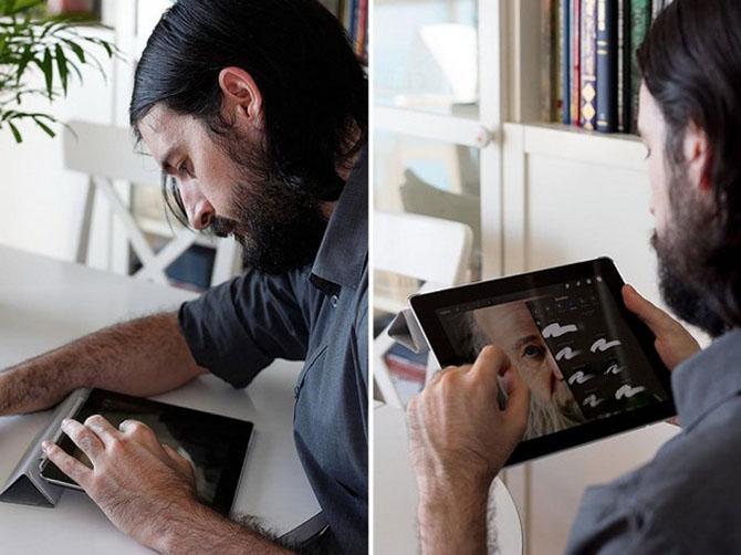 Картины на iPad от испанского художника