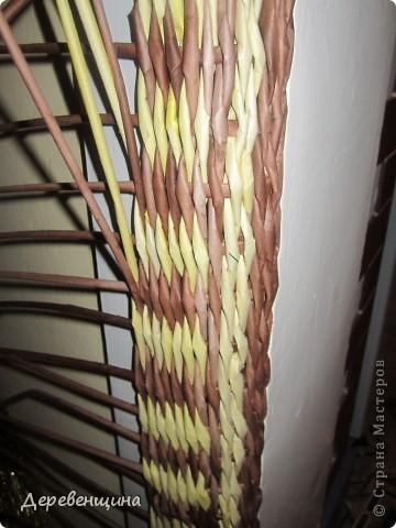 Мастер-класс Плетение: Медленно схожу с ума... Бумага газетная. Фото 5