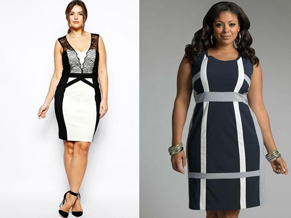 Как выбрать платье-футляр для полных женщин