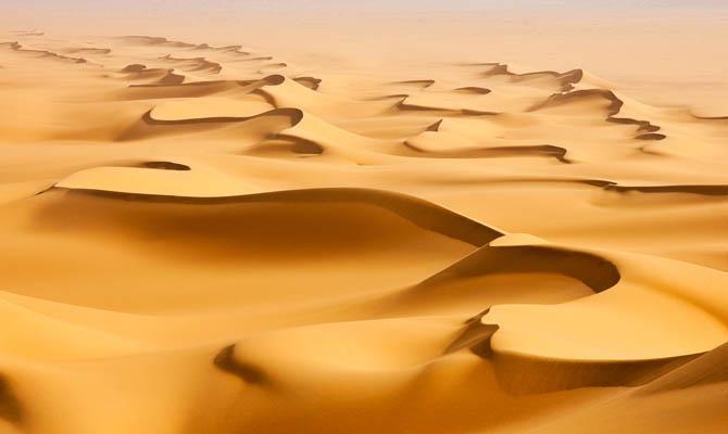 Саудовская Аравия пустыня, Интересные факты о Пустыне
