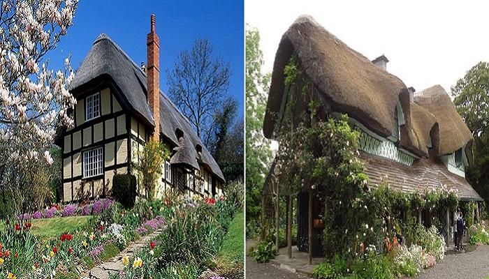 Оригинальность в оформлении отдельно взятого дома, создает волшебный колорит всему графству.