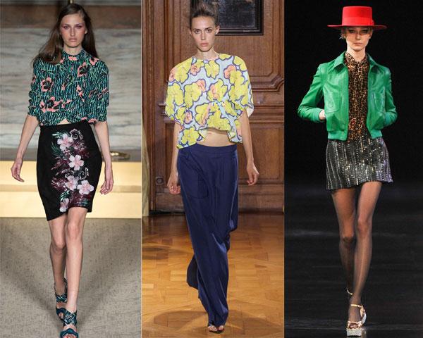 Модные принты блузок весна-лето 2015