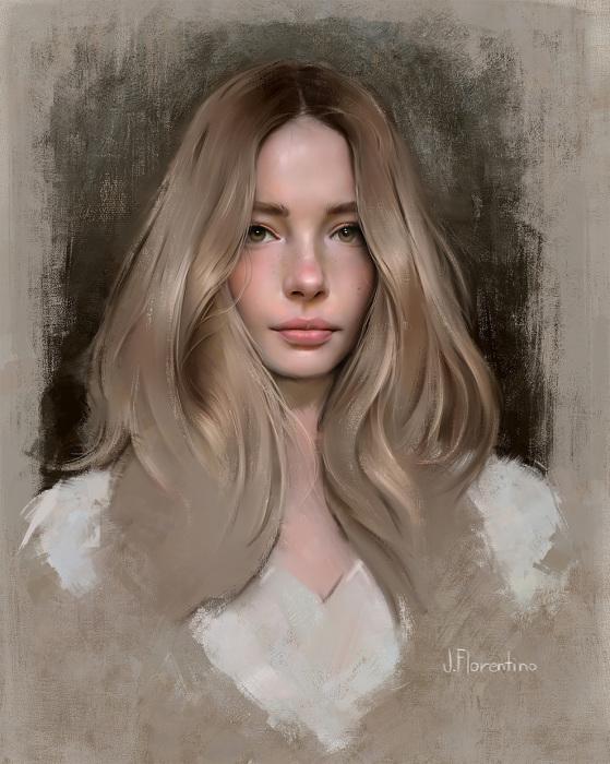 Джульетта. Автор: Justine Florentino.