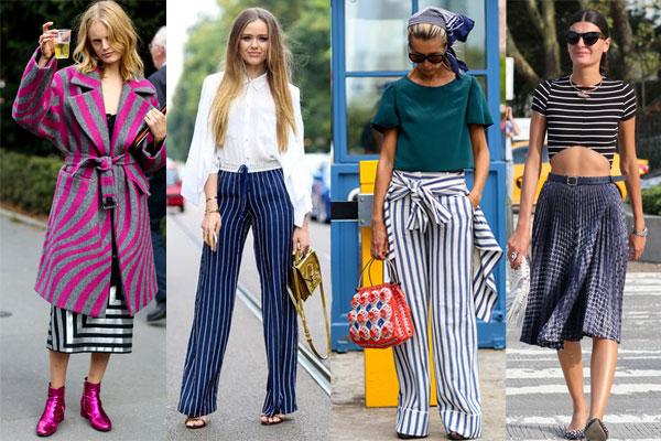 Уличная мода весна-лето 2015: Модная полоска