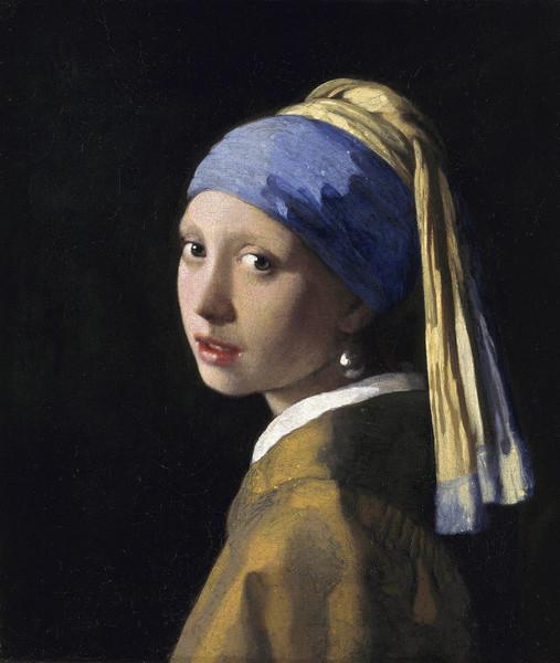 «Девушка с жемчужной сережкой», Ян Вермеер, 1665 год.