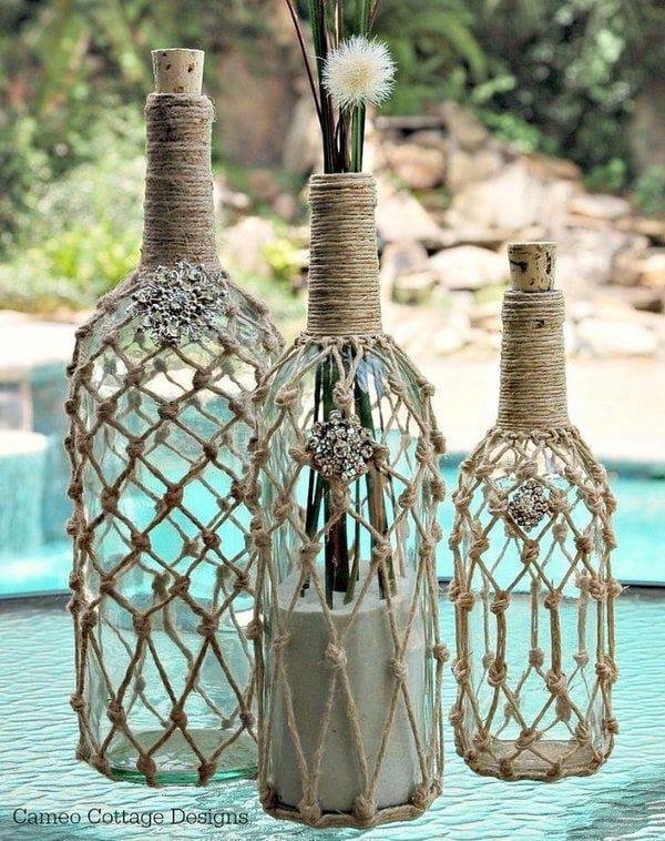 Идеи для дома из простой верёвки