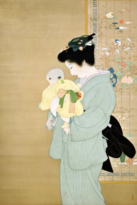 9-яп Мать и дитя (469x700, 81Kb)