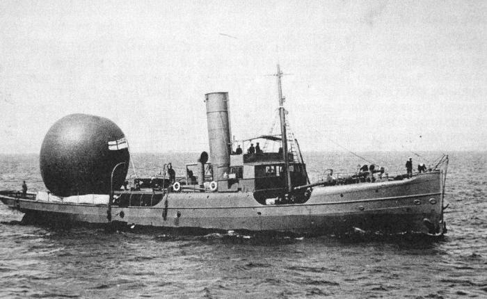 Русь Класс судна: Аэростатоносец Аэростатоносец «Русь» был построен еще в 1887 году, а в 1904 прошел серьезную модернизацию и вошел в состав эскадры. Этот корабль стал первым в совершенно новом классе крейсеров-аэростатоносцев, которые впоследствии эволюционировали в современные авианосцы. На борту судна размещались 4 боевых и 4 сигнальных аэростата, небольшой сферический воздушный шар использовался для навигации и разведки.