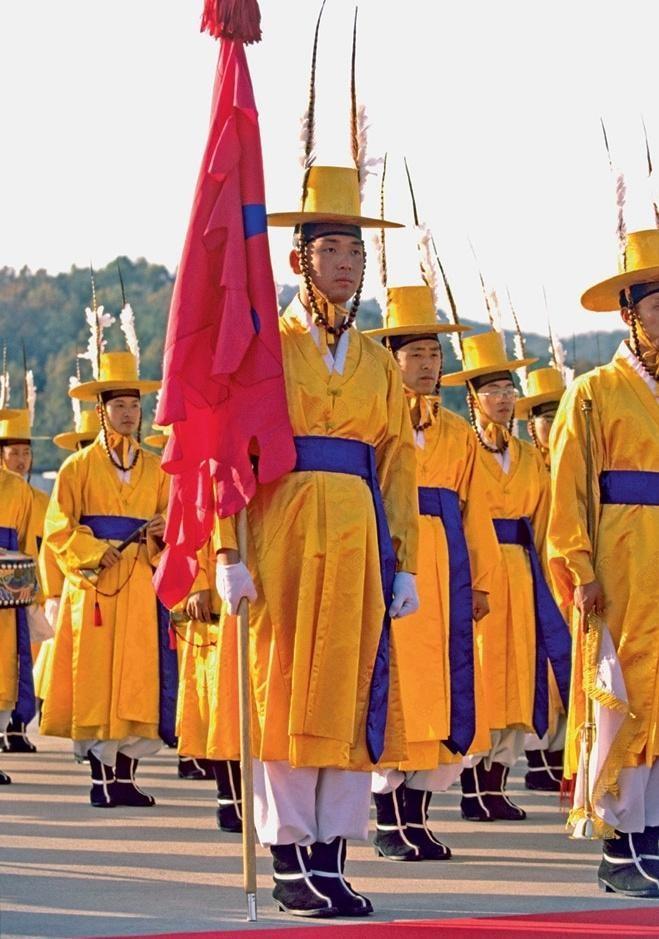 Coreia do Sul Estilo, exército, guerra, mundo, forma, roupas, forma