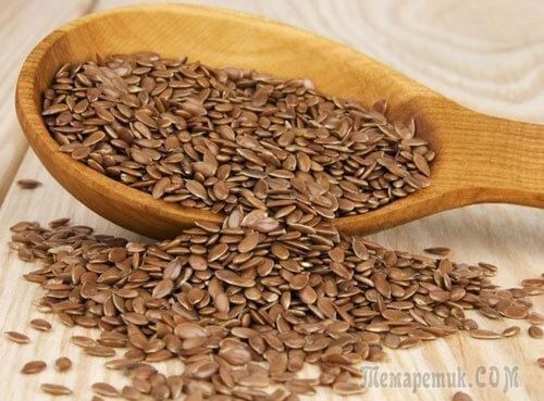 Семена льна в диетическом питании