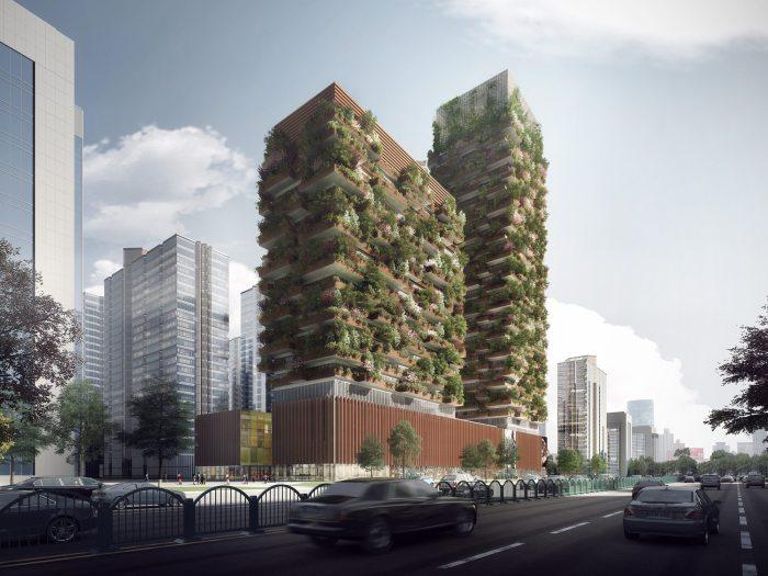 Очередной проект архитектора Stefano Boeri станет не только украшением мегаполиса. | Фото: prostranstvo.media.
