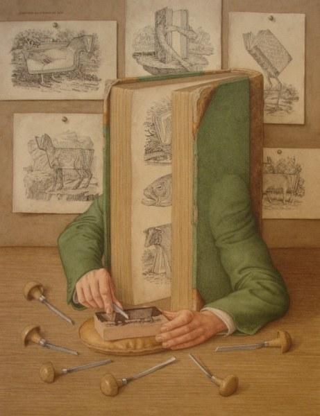 Необычные книги с руками (7 работ)
