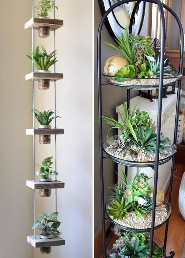 Полки для комнатных растений