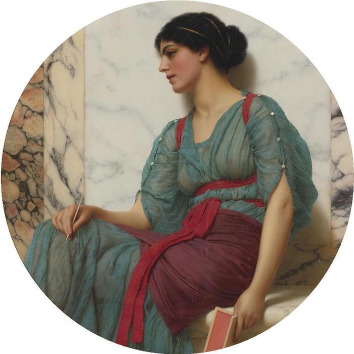 Джон Уильям Годвард любовное письмоl (700x700, 50Kb)
