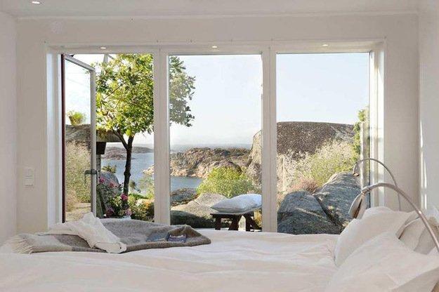 Отличный вид из окна гарантирует хорошее настроение по утрам