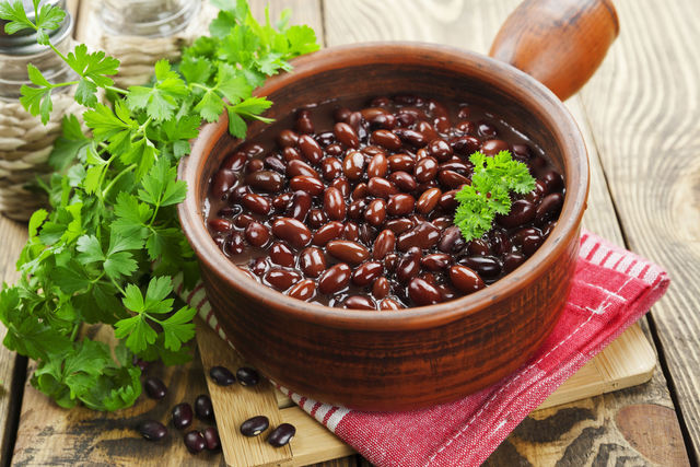 Фасоль прекрасно заменяет мясо и снижает потребление вредных жиров