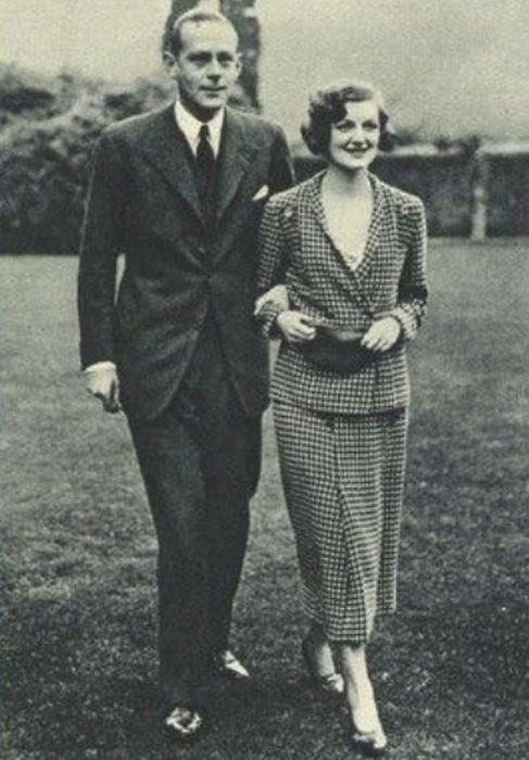 Диана Черчилль и Джон Бейли. / Фото: www.gettyimages.com