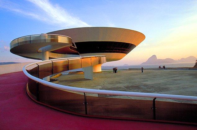 Музей современного искусства, Нитерой, Бразилия