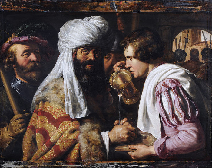 4 Пилат, умывающий руки. Очевидно, 1620-е (700x557, 174Kb)