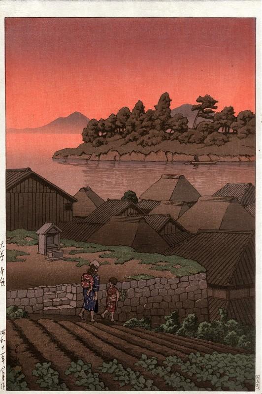 """Хасуи Кавасэ. """"Амакуса"""", 1947."""