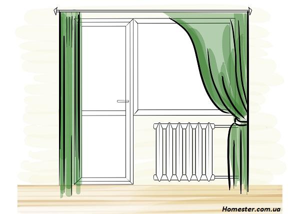 Двери на балкон - рекомендации по удачному оформлению.