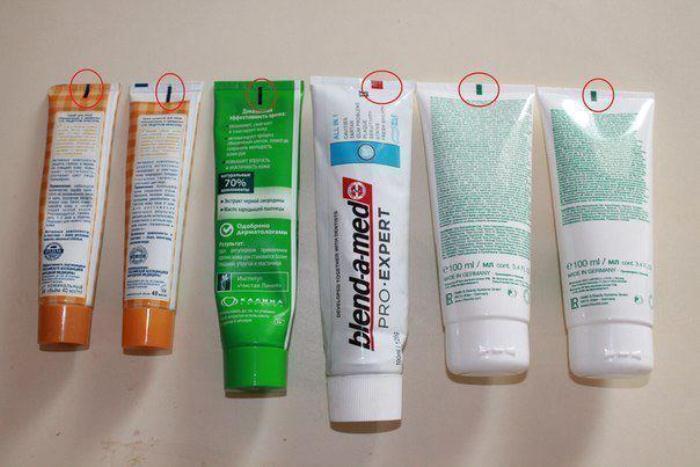 Секреты маркировки на тубах с зубной пастой и кремами.