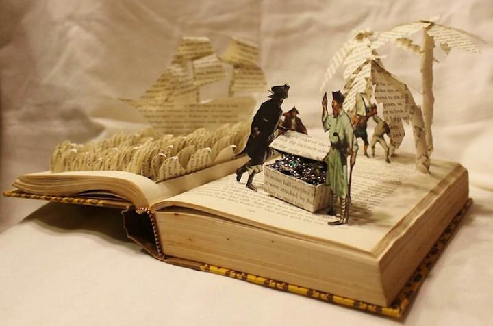 716 Бумажные истории из любимых книг