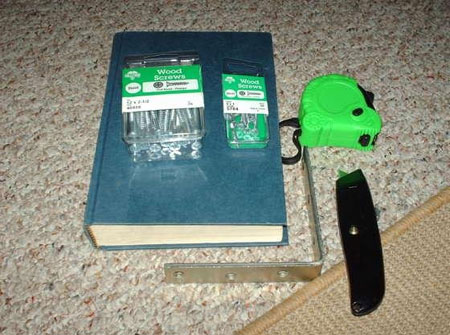 Инструменты для изготовления невидимой книжной полки