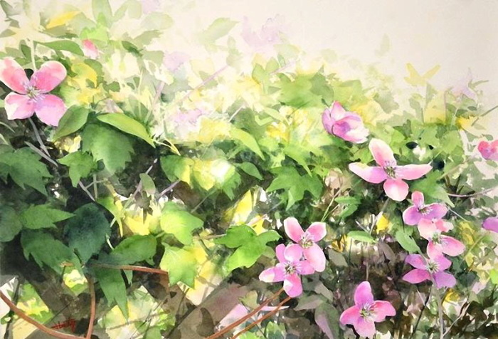 Ближе к солнцу. Автор: Abe Toshiyuki.