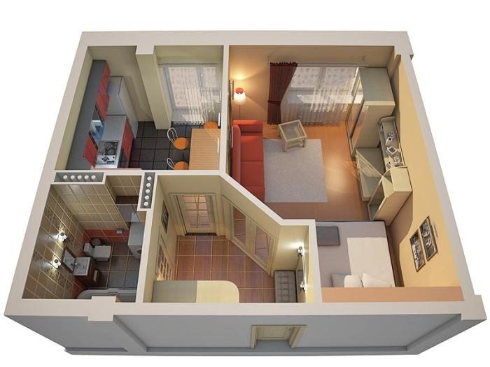 Нужно сделать план. /Фото: design-homes.ru.
