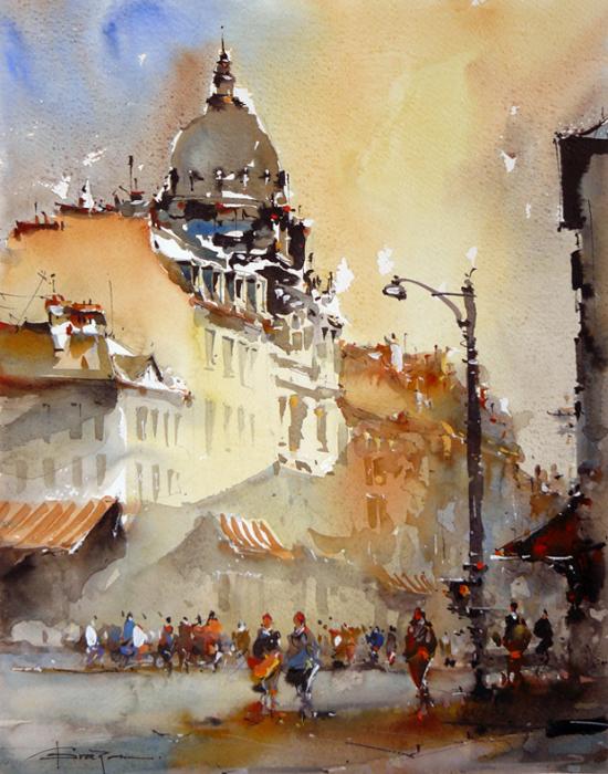 Городская рапсодия. Автор: Corneliu Dragan-Targoviste.