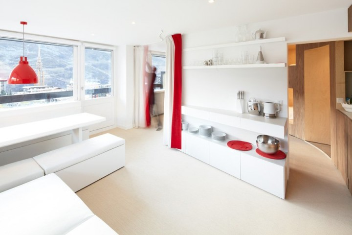 Интерьеры маленьких квартир: 55 кв.метров для семьи из 8-ми человек