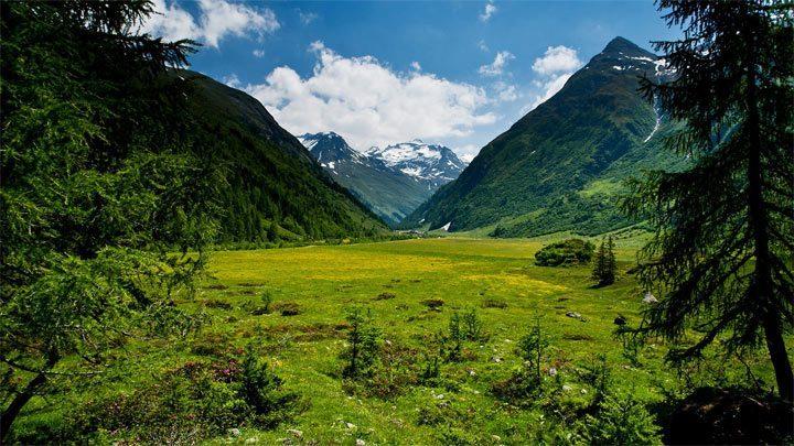 Красивейшие горы: Высокий Тауэрн