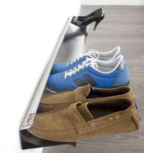 Миниатюрная полка для обуви
