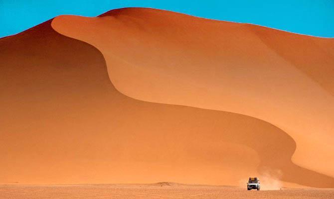 Сахара, Эми Коусо, Интересные факты о Пустыне