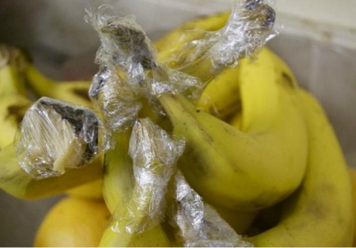 Длительное хранение бананов.