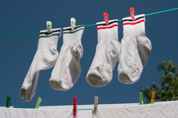 Не забываем ухаживать за носками. /Фото: modaistile.ru.