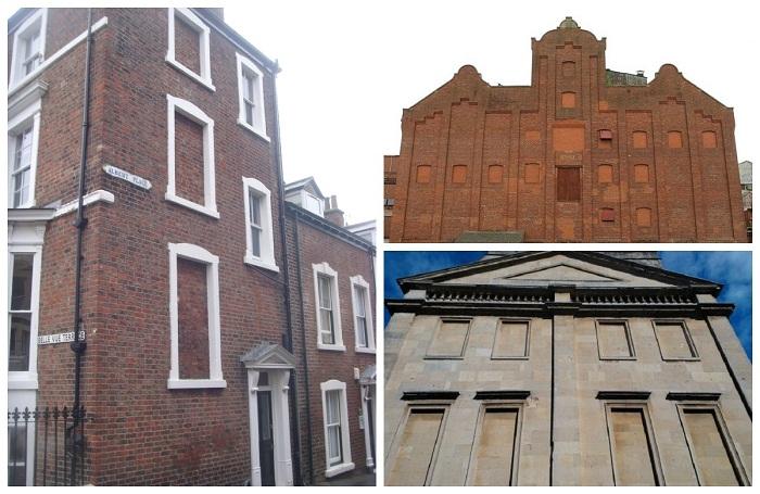 Дома без окон в старой Англии – весьма угнетающее зрелище.